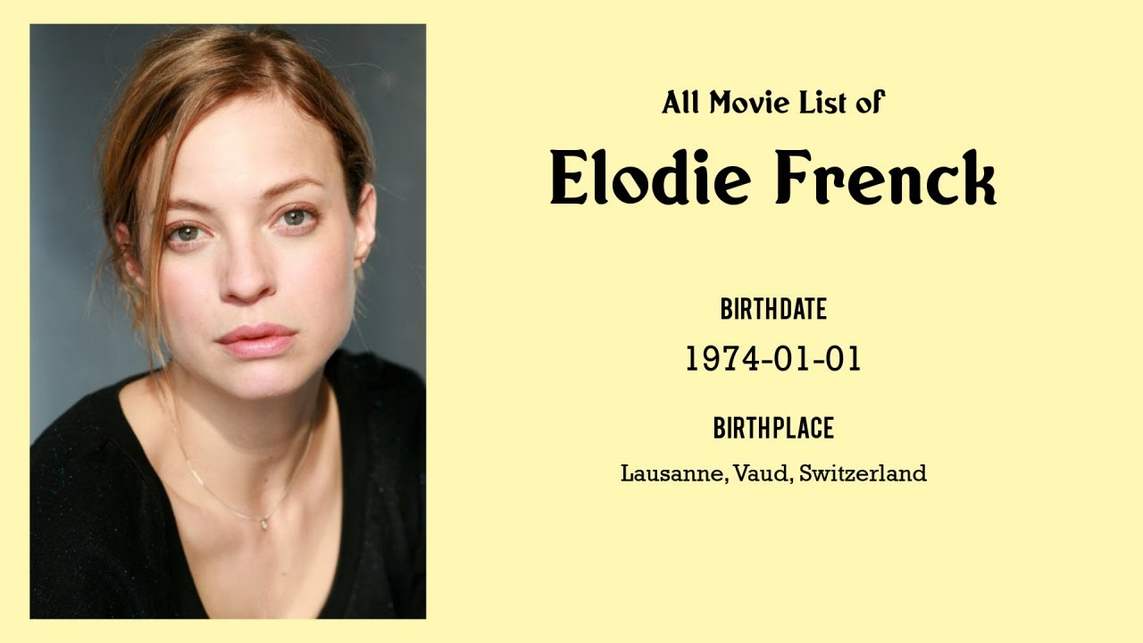 Frenck élodie Elodie Frenck