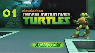 Nickelodeon's TMNT Xbox 360 Playthrough 01
