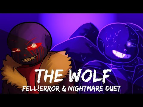 THE WOLF | Nightmare And Fell!Error Duet | Head Canon Voices