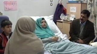 Pakistani Girl Shot in Head by Taliban, Malala Yousufzai,  Is Speaking