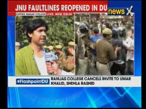 Flash point DU: Asia: Police mute spectators as attacked by ABVP
