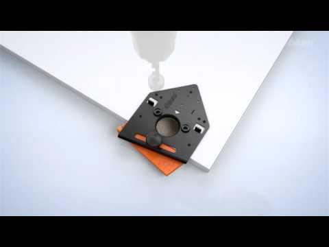Kast Scharnier Boor : Blum montage boormal inserta scharnier youtube
