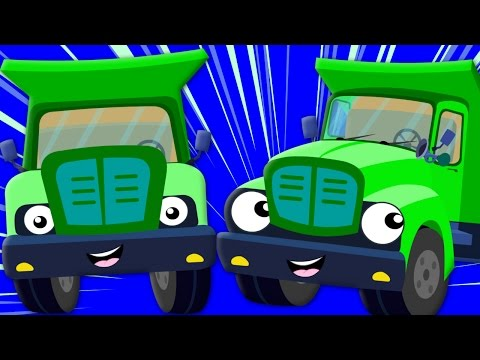 The Wheels On The Truck Nursery Rhyme Childrens Song Baby Rhymes kids tv S03 EP05