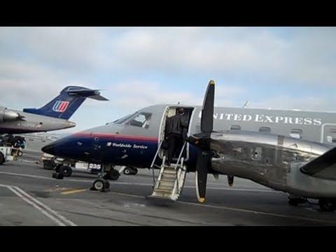SFO To Fresno To Las Vegas On A United Propjet
