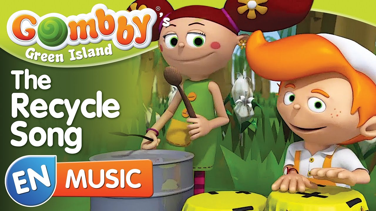 Music - The Recycle Song - Sing and Dance with Gombby in English ...