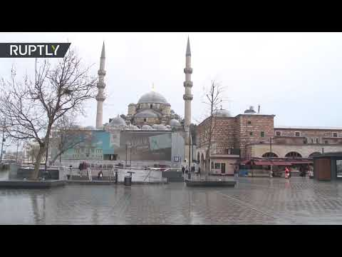 New COVID-19 restrictions | Prayers ring across empty Istanbul