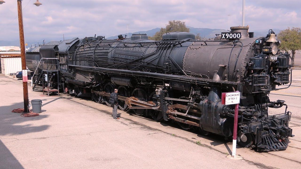 Union pacific steam locomotive youtube