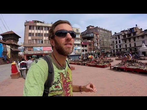 Exploring Kathmandu, Nepal: Walking from Durbar Square to Thamel