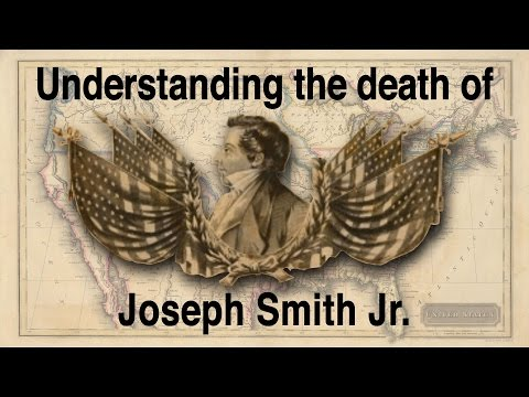 history needs bias: Understanding the death of Joseph Smith Jr, Mormon founder.