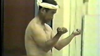 Sanchin kata - 1 of 4 -Angi Uezu -Isshinryu