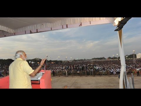 PM Modi's address at a Public Meeting in Coimbatore, Tamil N