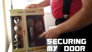 Unboxing The Gate House Door And Deadbolt Combo