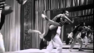 Dean Collins dancing with Jewel McGowan, 1942