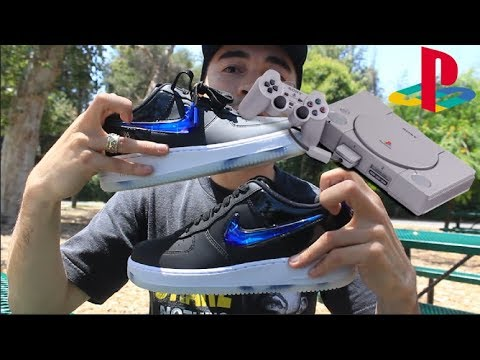 230cccf63e9f1 Drop Review  Play Station Air Force 1 s   Skating in Yeezy 500 s ...