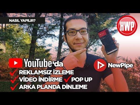 Harika bir YouTube uygulaması: Newpipe!