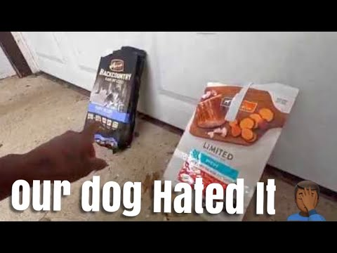 How To Choose Best DOG FOOD | (He HATED Natural Balance)