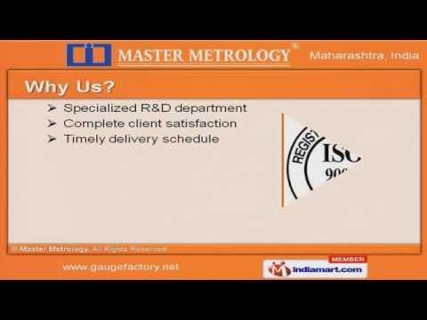 Hand Gauging – Thread gauges by Master Metrology Pune