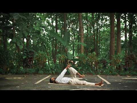 Merudandasana - Spinal Column Twist Pose