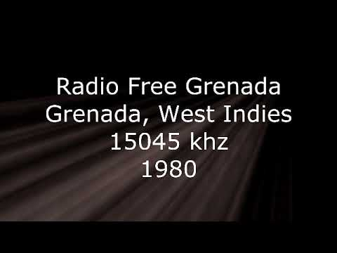 Radio Free Grenada, Grenada, West Indies, 15045 khz, 1980