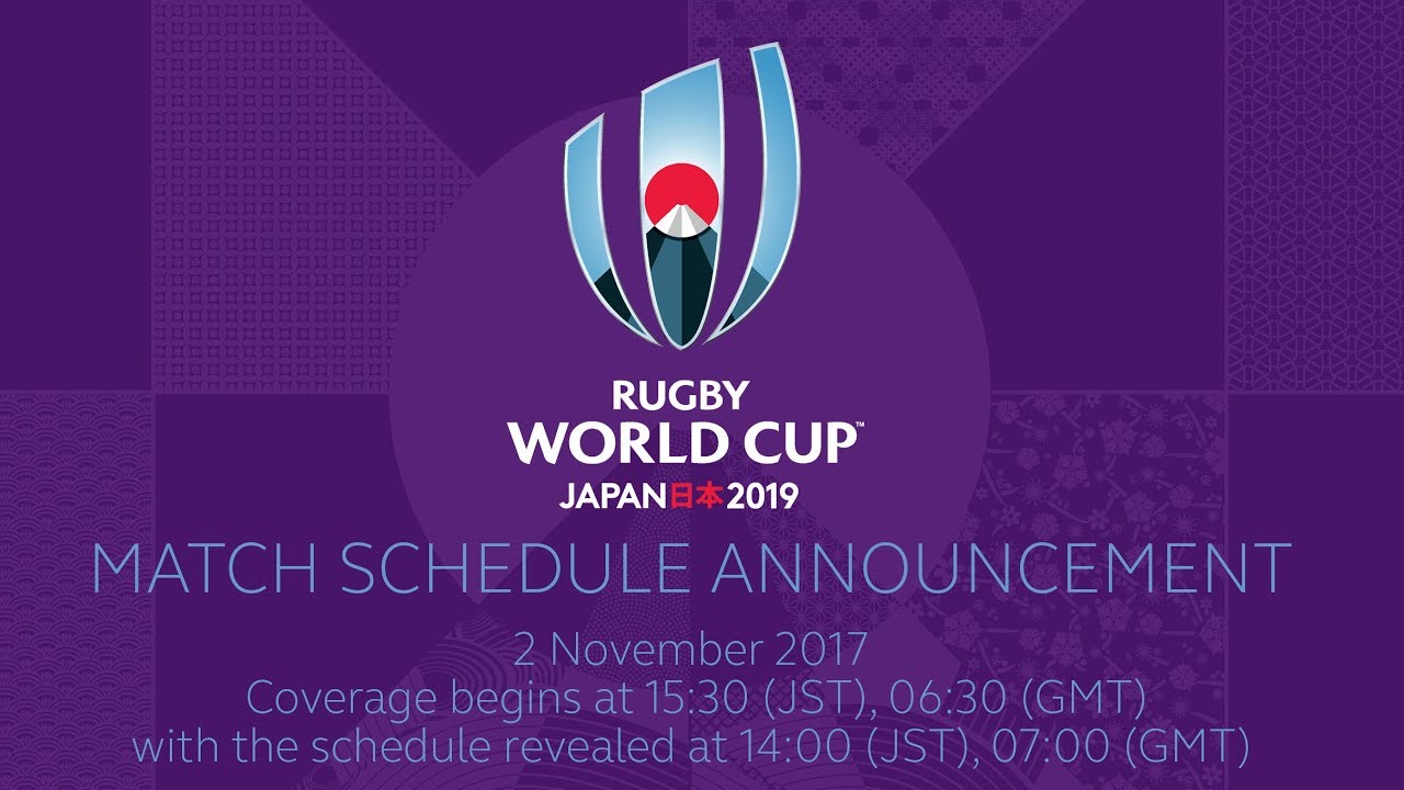 Rugby World Cup 2019 fixtures announced