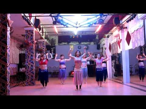 Zumba Bellydance -  Waka Waka (Cleopatra Club )_0989681858_www.vananh.vn