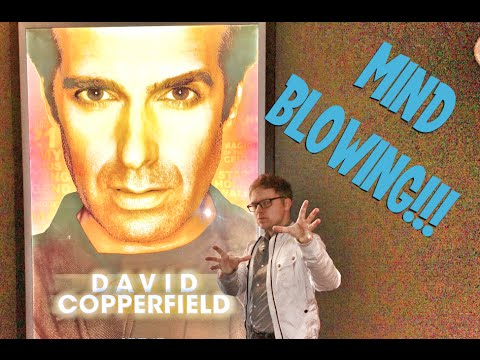 Copperfield in Vegas, Absolutely Mindblowing Live Show in Las Vegas, Very unofficial Travel Guides