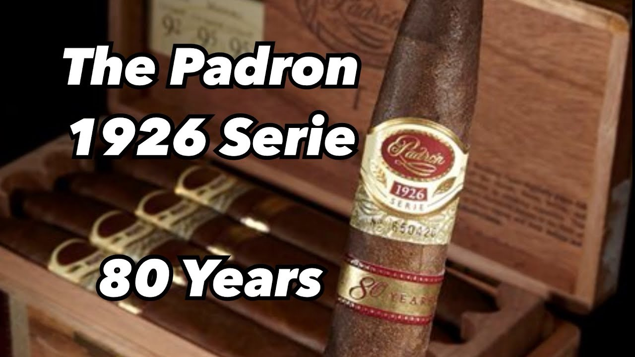 PADRON 1926 SERIE 80 YEARS- cigar review