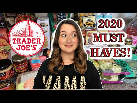 BEST THINGS TO BUY AT TRADER JOE'S |2020 MUST HAVES | OLD + NEW FAVORITES