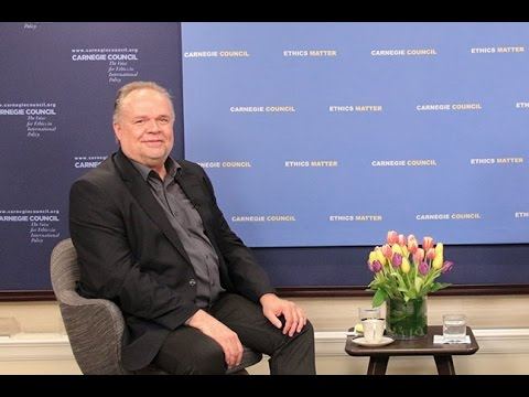 Global Ethics Forum: New Paradigms for Refugee Camps and Humanitarian Aid with Kilian Kleinschmidt