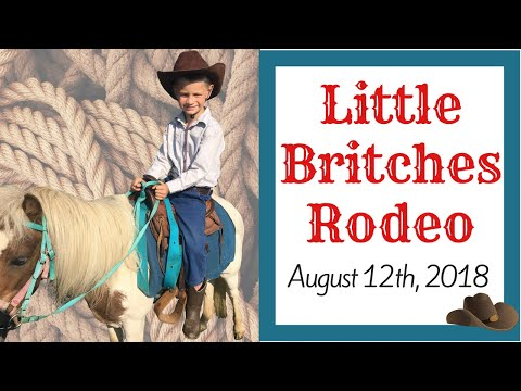 Little Britches Rodeo VLOG - August 12th, 2018
