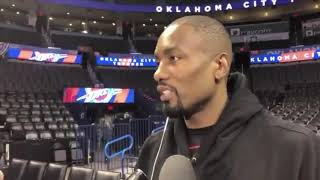 Thunder Update: Ibaka shares his thoughts on Nick Collison