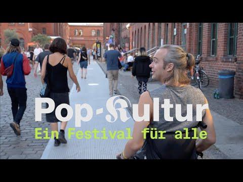 Pop-Kultur - ein Festival für alle