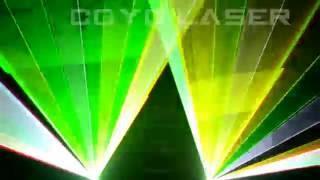 MOBİL Animasyon Lazer Işık Gösterisi RGB 5000mW DT 40K İLDA DMX