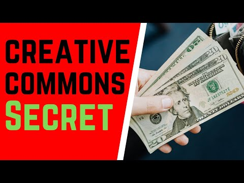How To Make $200 A Day Online With CREATIVE COMMONS VIDEOS  on Youtube