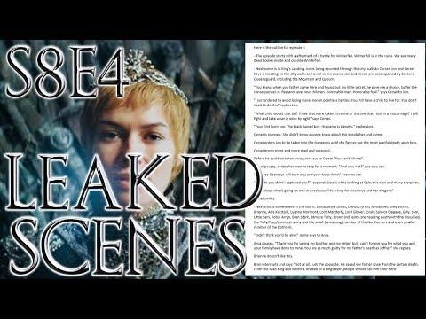 Season 8 Episode 4 Leaked Outline ! | Game of Thrones Season 8 Episode 4 letöltés