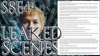 Season 8 Episode 4 Leaked Outline ! | Game of Thrones Season 8 Episode 4