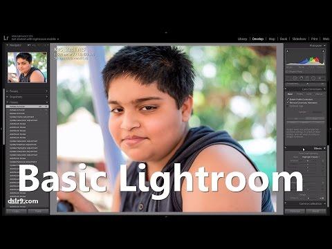 Lightroom Tutorial in Hindi - Lightroom Tutorial for Beginners