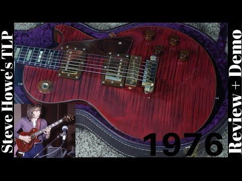 Steve Howe's of YES / Asia Personal 1976 Gibson The Les Paul Wine Red Reg  No 26 Review and Demo