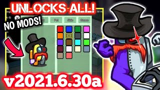 Unlock All Hats, Pets, & Skİns For Free! Clean Vent Update 2021.6.30 (WITHOUT MODS!) Among Us Latest