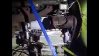 Moteur PERKINS 6 Cylindres en fonctionnement