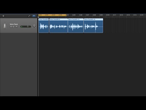 Garageband 10 Tutorial Part 4: Editing and adding effects to a track