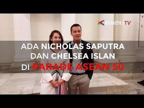 Ada Nicholas Saputra dan Chelsea Islan di Parade ASEAN 50