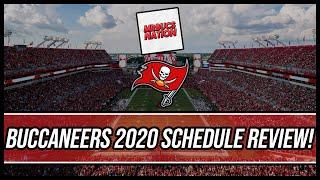 Tampa Bay Buccaneers 2020 Schedule Review!