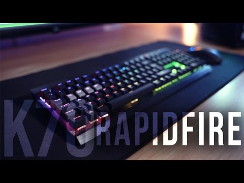 Corsair K70 RGB Rapidfire Review! THE BEST GAMING KEYBOARD!