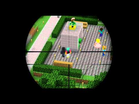 [irpg minecraft server]Eagle Eyes Challenge-sniper effects.#cpt.warman