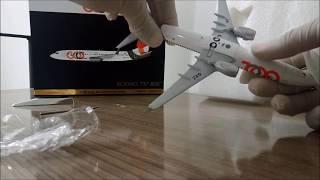 miniatura boeing 737 800 gol pr gxz scale 1 200 gemini 200