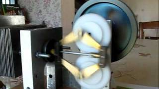 Rhombic drive Stirling engine - moteur Stirling à embiellage rhombique