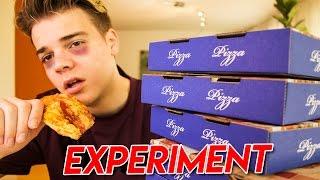 EINE WOCHE NUR PIZZA ESSEN! 😱 - Selbstexperiment