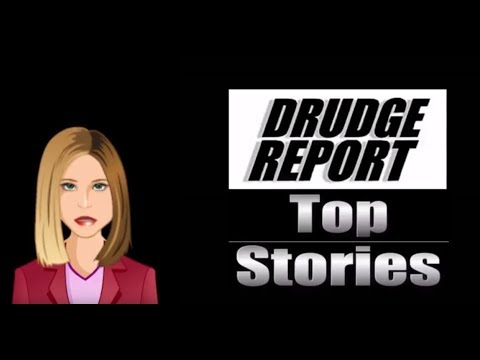 Drudge Report Top Stories for Thursday, May 25th 2017  - Seth Rich - President Trump - Bannon
