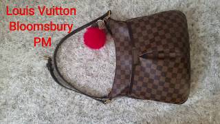 What's in my bag? Louis Vuitton Bloomsbury PM